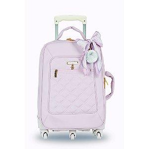Mala de Rodinhas 1 Compartimento Ballet Rosa - Masterbag Baby
