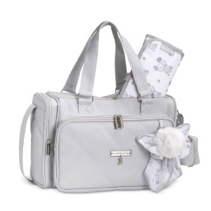 Bolsa Térmica Anne Urso Cinza - Masterbag Baby