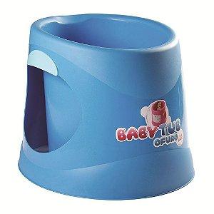Banheira Ofurô Infantil 0 á 6 Anos Azul -Baby Tub Ofurô