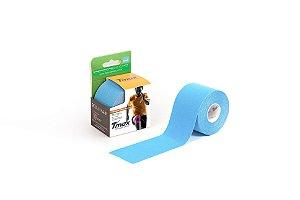 Bandagem Elastica Adesiva 5m x 5cm Azul - Tmax