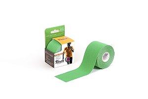 Bandagem Elastica Adesiva 5m x 5cm Verde - Tmax
