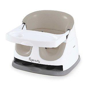 Cadeira de Alimentação Baby Base 2 em 1 Bege - Ingenuity