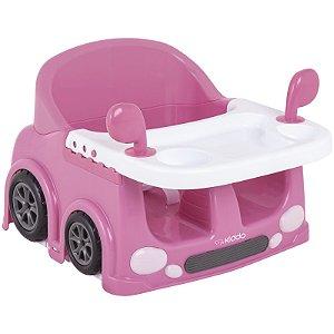 Cadeira Portátil para Alimentação Drive Rosa - Kiddo