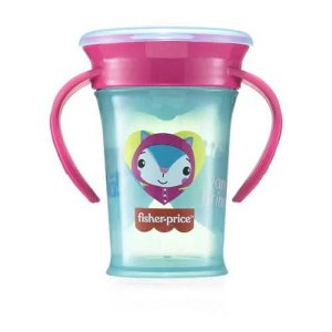 Copo de Treinamento First Moments Rosa Candy - Fisher Price