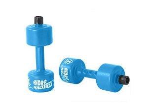 Halteres Plástico Para Hidroginástica Pequeno 1 Kg