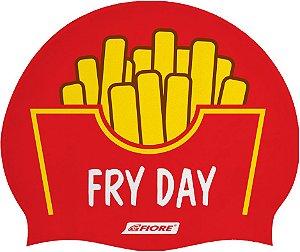 Touca De Silicone Para Natação Fiore Fry Day