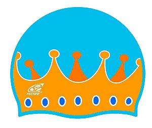 Touca De Silicone Para Natação Fiore Crown
