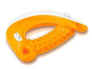 Poltrona Inflável Marina Com Alças E Porta Copos