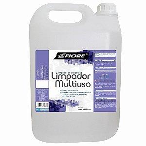 Limpador Multiuso Produto Especial para Academias Plástico e E.V.A. 5L