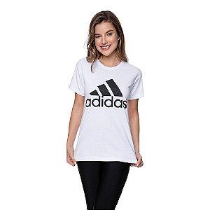 Camiseta Feminina Adidas Original Branca