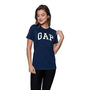 Camiseta Feminina GAP Original Azul marinho