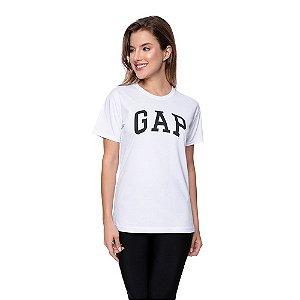 Camiseta Feminina GAP Original Branca