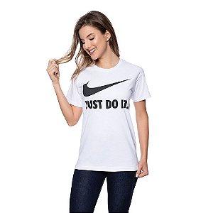 Camiseta Feminina Nike Original Branca