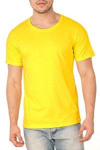 Camiseta Masculina Lisa Amarela