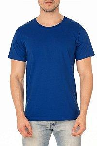 Camiseta Masculina Lisa Azul