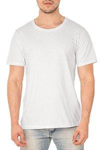 Camiseta Masculina Lisa Branca