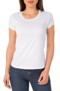 Camiseta Feminina Lisa Branca