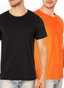 Kit com 03 Camisetas Lisas Masculina