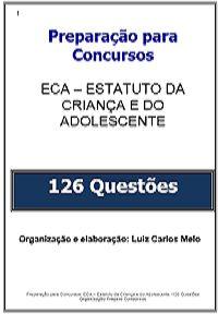 Simulado Concurso Professor: 126 Questões ECA
