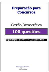 Simulado: 100 Questões Gestão Democrática
