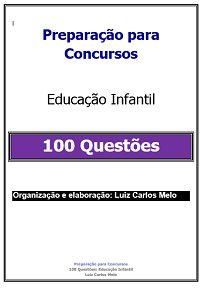 Simulado de 100 Questões  Educação Infantil