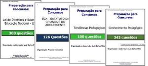 868 Questões: LDB, ECA. Tendências E Conhecimento pedagógicos