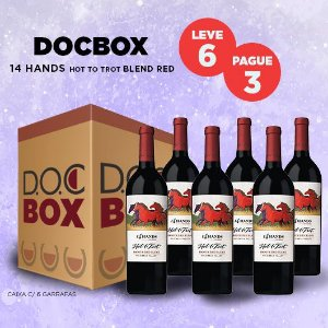 DOC BOX 14 HANDS HOT TO TROT BLEND RED 2015