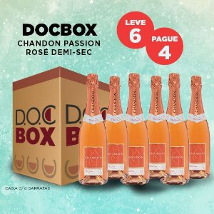 DOC BOX CHANDON PASSION ROSÉ DEMI-SEC