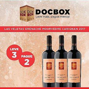 DOC BOX  3GFS - LAS VELETAS GRENACHE MOURVEDRE CARIGNAN 2017