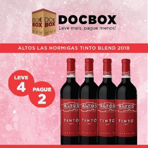 DOC BOX 4GFS - ALTOS LAS HORMIGAS TINTO BLEND 2018