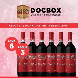 DOC BOX 6GFS - ALTOS LAS HORMIGAS TINTO BLEND 2018