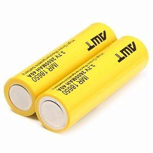 Bateria/ Pilha IMR 18650 - 3.7V 2600mAh 40A - AWT