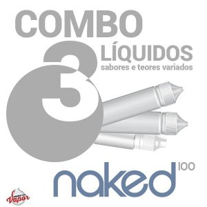 COMBO 3 Líquido Naked 60ml