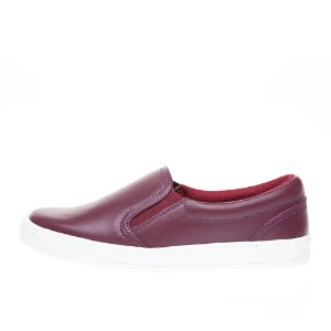 Slip On Asapatilha  Burgundy