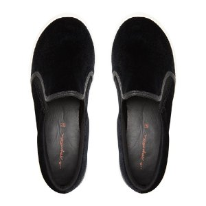 Slip On Asapatilha High Veludo Preto