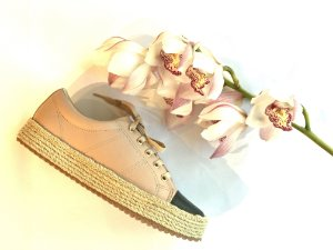 Sneaker Asapatilha Rope  Biqueira Rose