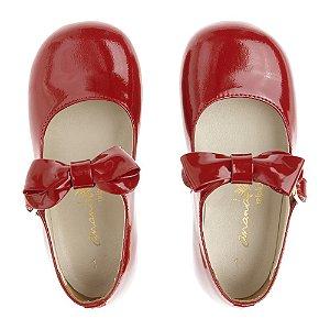 Sapato Ananás Mary Jane Vermelho