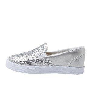 Slip On  Ananás Mini Prata