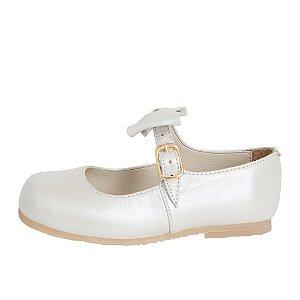 Sapato Asapatilha Mary Jane Perola