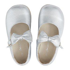 Sapato Ananás Mary  Jane Prata