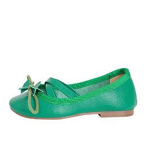 Sapatilha Ananás Mini Bailarina Verde