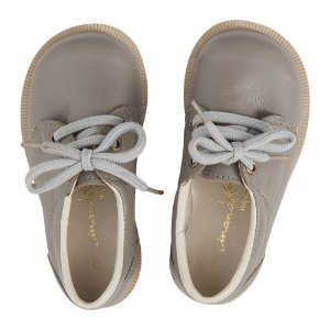 Sapato Ananás Brogue John Cinza