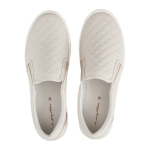 Slip On Asapatilha High Matelassê Off White