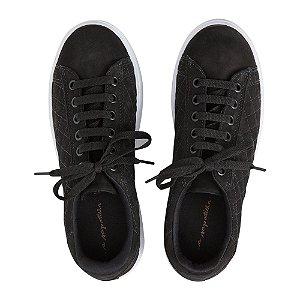 Sneaker Asapatilha High Matelassê Preto