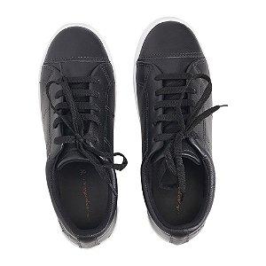 Sneaker Asapatilha Love Couro Preto