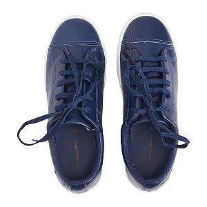 Sneaker Asapatilha Love Couro  Marinho