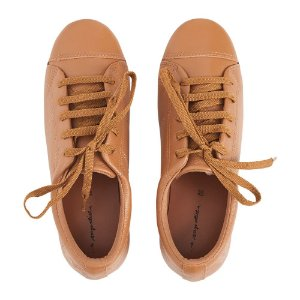 Sneaker Asapatilha Love Couro Caramelo