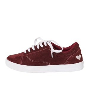 Sneaker Asapatilha Love Burgundy