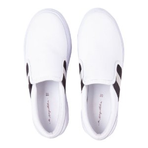 Sneaker Asapatilha High Branco Listra