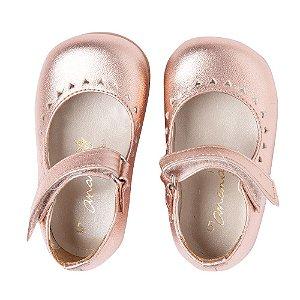 Sapato Ananás Rose Metalico
